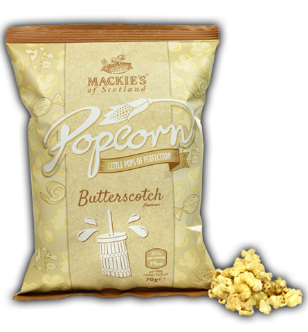Mackies Butterscotch Popcorn