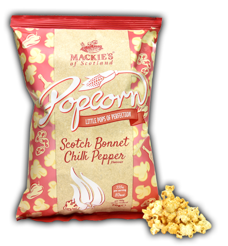 Mackies Scotch Bonnet Chilli Pepper Popcorn