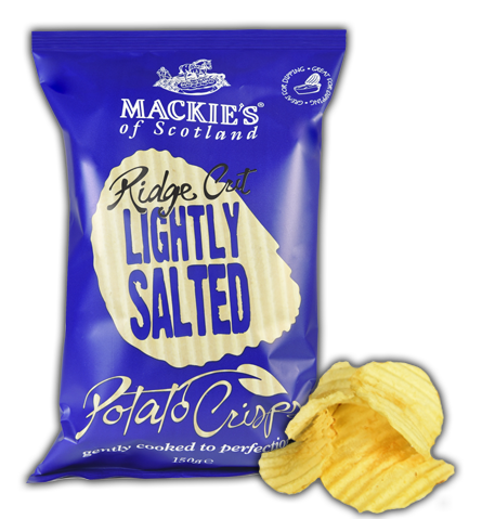 Mackie's Crisps Lightly Salted Ridge Cut
