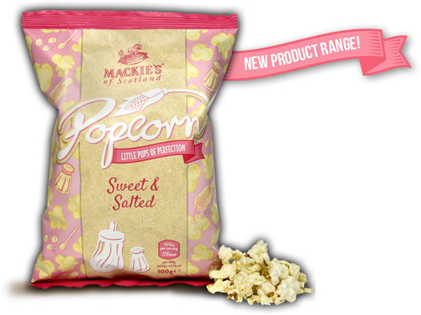Sweet & Salted Popcorn